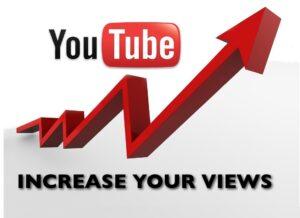 increasre youtube views