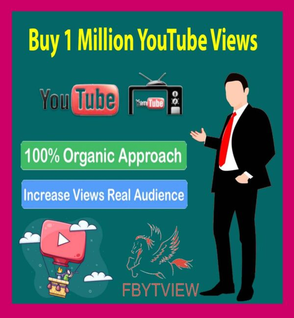 Buy 1 Million YouTube Views