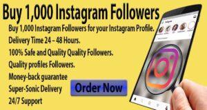 Buy 1,000 Instagram Followers