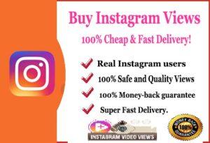 Buy 1000 Instagram Views