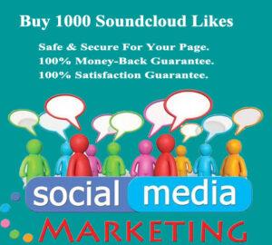 Buy 1000 Soundcloud Likes Cheap