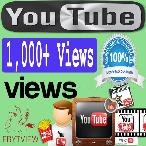 Buy 1000 YouTube Views