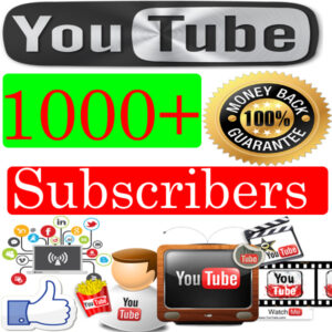 Buy-1000-youtube-Subscribers