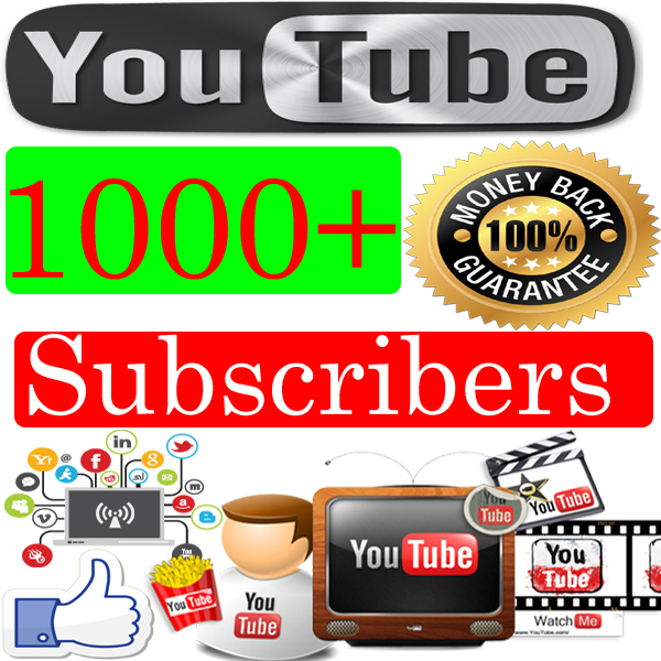 Buy-1000-youtube-Subscribers