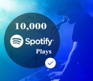 Buy 10000 Spotify Plays