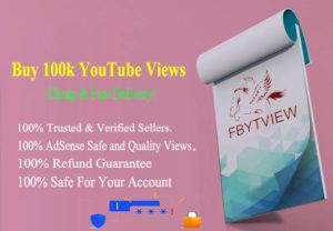 Buy 100k YouTube Views Cheap
