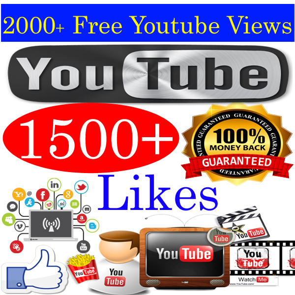 Buy 1500 YouTube Likes