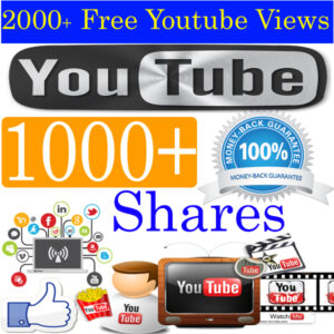 Buy 1000 YouTube Video Share
