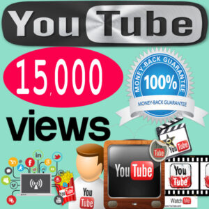 Buy 15,000 YouTube Views