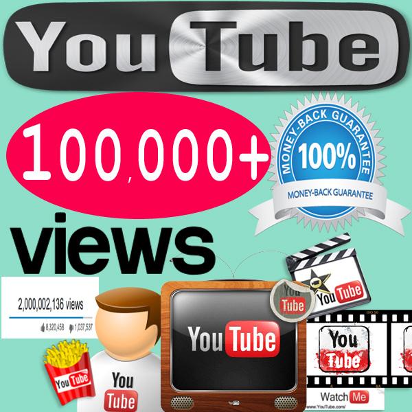 Buy 100,000 YouTube Views