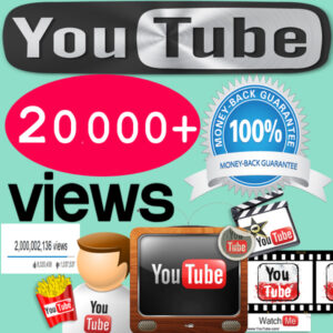 Buy 20,000 YouTube Views