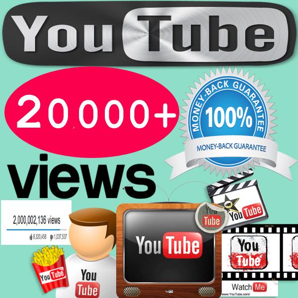 Buy 20,000 YouTube Views