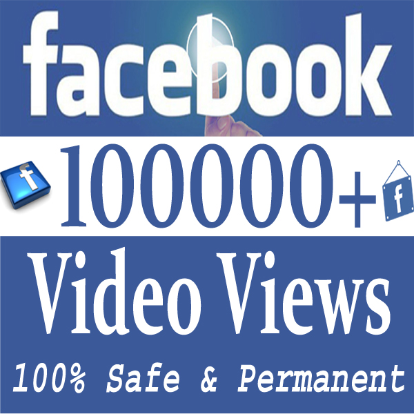 Buy 100 Facebook Video Views